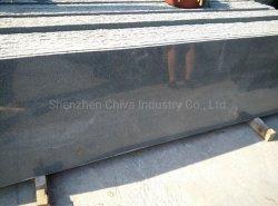 Padang/Gris/Negro oscuro origen de sésamo/auténtico G654 de losas de granito mosaicos//granito/Escaleras flameados/la pavimentación de la piedra de guijarros/adoquines