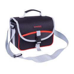 Дешевые гаджет мешки из полиэфирного волокна 600d среднего размера сумка для фотокамер компактная сумка гаджетов Flip тип закрытия замка ремня безопасности