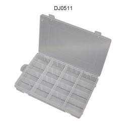플라스틱 16 그리드 조정 가능 귀금속 비드 보관 상자 케이스를 지웁니다 크래프트 오거나이저 홈