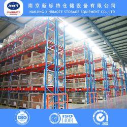 Titulaire de l'entrepôt factorielle marchandises châssis en acier Rack de stockage de palettes de faisceau avec Service de conception en rack