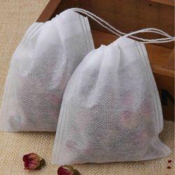 빈 티백 느슨한 허브 차조 풀링조 비우븐 패브릭 티 가방의 뜨거운 세일 제품