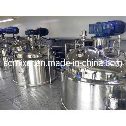 꿀 소스 혼합 탱크 페인트 혼합 기계 액체 비누 만들기 기계 세제 샴푸 스터링 믹서