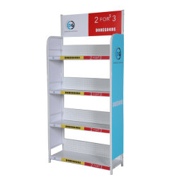 Revista de prensa Bandeja para rack Stand de libros