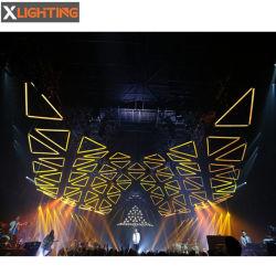 Discoteca La decoración de la lluvia cinética cinética Mezclador de DJ Tubo Pixel luces