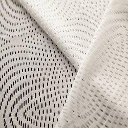 刺繍のフランスのテュルのトリミングの網水波のレースファブリック