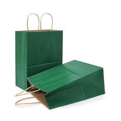 Full Color Kraft carta caramella Grocery Shopping Packaging Bag regalo Borse tote bag