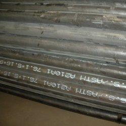 ASTM A179 ASTM A192 ASTM A210 холодной обращено сшитых углеродистой стали бойлер трубопровода