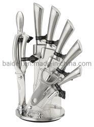 Pega de Aço Inoxidável PCS 9 Conjunto de Facas de cozinha para ferramenta de cozinha