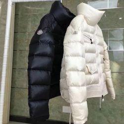 Moda Cor Clara Senhora Inverno LAZER Piscina de Manga Longa casaco para baixo
