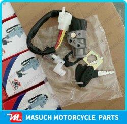 Piezas de motos juego de bloqueo de la Motocicleta de TBT110/DY110 Contacto