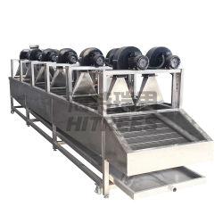 رقائق البطاطس من نوع حزام من الفولاذ المقاوم للصدأ مروحة الطرد المركزي البطاطس المقلية رقائق الذرة deoil dewatering آلة التجفيف