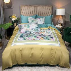 新製品のデジタル印刷の敷布の4PCS寝具のための柔らかい綿織物