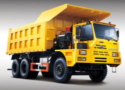 Camión de acarreo de minería de datos con 70t para el transporte de carga útil de mina