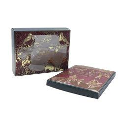 고품질 낭만주의 심혼 모양 꽃에 의하여 주문을 받아서 만들어지는 호의 종이 선물 상자
