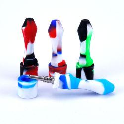 미니 티타늄 네일 파이프 흡연 파이프 메탈 보울 samll 실리콘 도매 가격이 있는 목수집기 키트