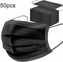 3 Layer Máscara Civis Earloop descartáveis para proteção contra poeira e saúde pessoal 50 Pack 3D Máscara Earloop elástica