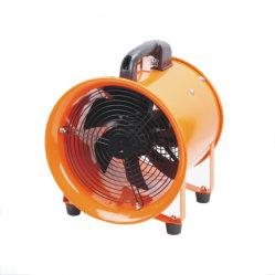 Высокая мощность промышленных 14' портативный вытяжной вентилятор с 5м шланг ПВХ Гибкий воздуховод