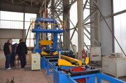 H-빔 자동 어셈블리 용접 면 고르기 기계 생산 라인