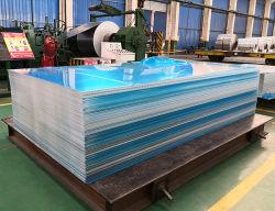 Hoja de aleación de aluminio estampado liso 8mm de espesor 5052