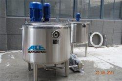 precio de fábrica de acero inoxidable sellado para almacenamiento de agua de perfume Petro Jelly Alcohol vaselina el depósito de almacenamiento de productos químicos equipos