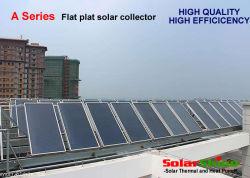 Placa plana de alta eficiencia de colectores solares para el sistema de calefacción solar de agua