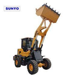 chargeuse à roues compact Sunyo Zl mini-chargeur932g modèle comme des chargeuses pelleteuses sont de bons machinerie de construction.