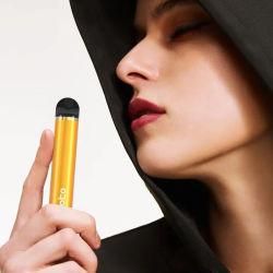 Commerce de gros Vape stylo jetable 1500 bouffées gousses électrique E cigarette