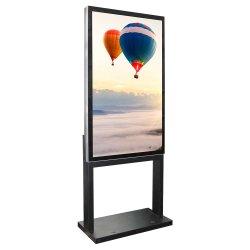 55인치 HD 2500nits 디지털 윈도우 디스플레이 LCD 스크린 키오스크가 있는 독립형 광고 디스플레이 기기 광고 플레이어 디지털 사이니지