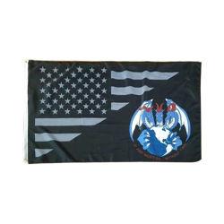 세련된 스타일의 3X5FT 대형 깃발 자신만의 로고 디자인 인쇄
