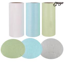A fábrica de viscose Non-Woven Tencel) Fibra pérola de bambu Folha de máscara facial de seda
