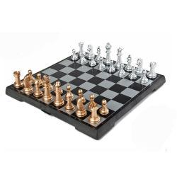 Professional Fabricant de gros échecs magnétique de haute qualité de Pliage personnalisé défini