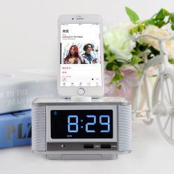 Altavoces Creative Reloj Digital LCD portátil Reloj despertador con reproductor de MP3