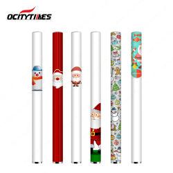 Van het nieuwjaar van Kerstmis van de Gift de Op smaak gebrachte E Sigaret van Ocitytimes 500puffs