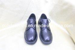 Nuevo Real de suave cuero negro Zapato de oficina