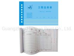 Kohlenstofffreie Exemplar-Empfangs-Buch-Verdreifachung kohlenstofffreie NCR-Formulare