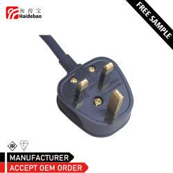 Великобритании BS 1363 проводки трехконтактных прямоугольные заглушки винтового типа кабеля 3 5 10 13а вилку шнура питания