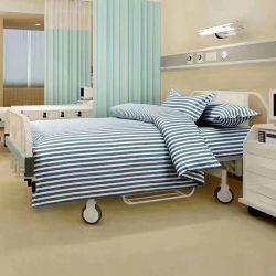 100% algodón ropa de cama de hospital