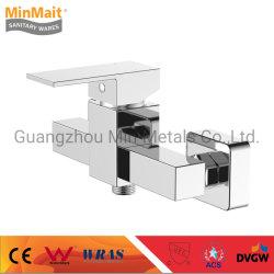 중국 공장 새로운 디자인 금관 악기 샤워 믹서 목욕탕 꼭지 (변압기)