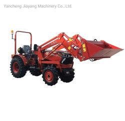 25 zum schmalen kompakten bewirtschaftenden landwirtschaftlicher Bauernhof-Garten-kleinen 4WD fahrbaren Minitraktor der Landwirtschafts-45HP mit Cer Coc