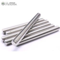 قضيب حز S316 SS316 SS316L A4-70 A4-80 من الفولاذ المقاوم للصدأ