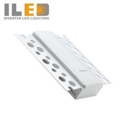 Perfil de alumínio para pladur LED com 20mm de tamanho interno para luz de LED