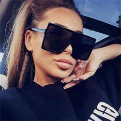 أكبر من المعتاد نظّارات شمس نمو نساء نظّارات شمس [بلك سقور] نظّارات شمس