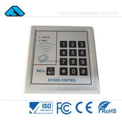 戸口の呼び鈴のデジタルコードエントリ渡ることが付いている12V DCのドアのアクセス制御キーパッド(TL 210A)