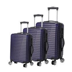 ABS+PC el mecanismo de giro incorporada en el bloqueo de la TSA llevar equipaje de viaje ampliable en