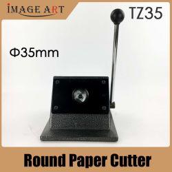 Круглая кнопка контакт ножа для бумаги диаметром 35мм круг резак для 25мм знак принятия решений