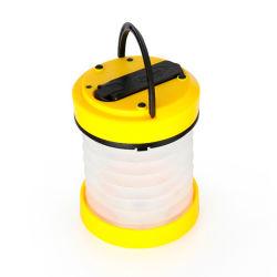 Teleskop-Fach LED Camping Laterne USB wiederaufladbare Handkurbel Mini Taschenlampe