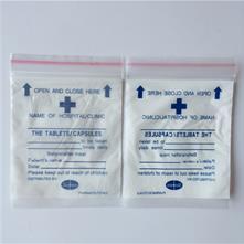Saco de Drogas /Saco Medicina/ Fecho Zip Saco de Medicina /Pill Bag