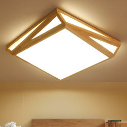 Древесина для утопленного монтажа потолочного освещения для использования внутри помещений дома осветительной арматуры (WH-ВА-02)