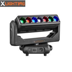 LED de Iluminación DMX 7*40W barra móvil con el Zoom moviendo la cabeza de las luces de la etapa haz