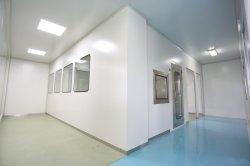 GMP Hospital Operation e camera bianca modulare ICU con filtro a ventola E impianto HVAC